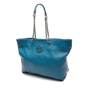 Tory Burch East West Marion Leather Shoulder Tote